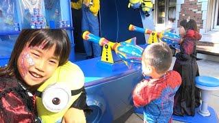 usj ミニオン スペースキラー で奇跡のget おでかけ minion universal studios japan family fun theme park