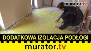 Dodatkowa izolacja stropów i podłogi - Budowa domu pasywnego