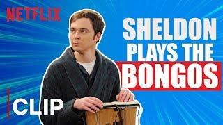 Sheldon Plays the Bongos   The Big Bang Theory   Netflix India