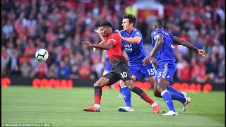 Manchester United 2 1 Leicester City Paul Pogba penalty and Luke Shaw's first senior goal get Premie
