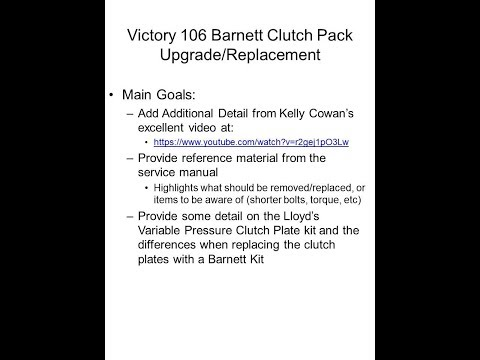 Victory service manual victory 106 barnett clutch replacement lloydz variable fandeluxe Image collections