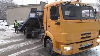 В Ульяновске эвакуируют бесхозные машины