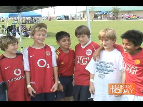 Youth Soccer in Viera - 02/09/2008