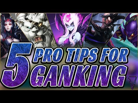 5 Pro Ganking Tips To Climb! (League of Legends Season 9) thumbnail