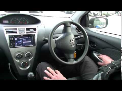 2013 TOYOTA YARIS NCP93R YRS REVIEW   B4485