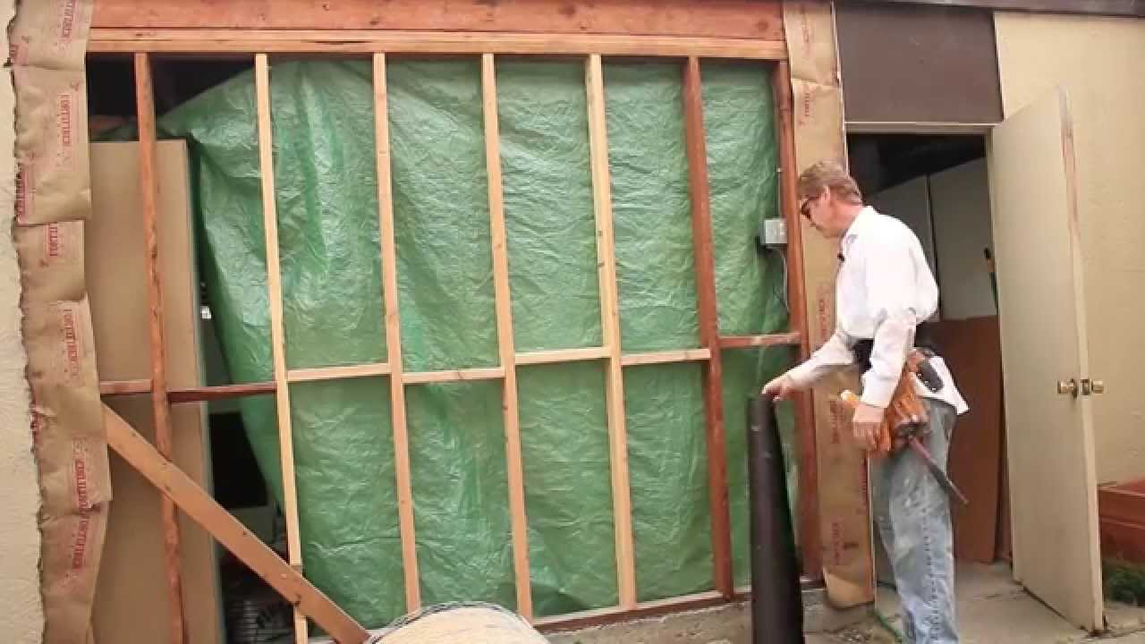 How To Lath A Stud Wall With Pre Furred Wire Paper Attached Wiring Basics Youtube Premium