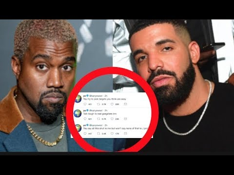 BREAKING: Kanye West Accuses Drake Of Trying To Come After The Entire Kardashian - Jenner Family Mp3