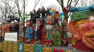 Carnavalsoptocht 2017 in het Peelpluimenrijk (Helenaveen)