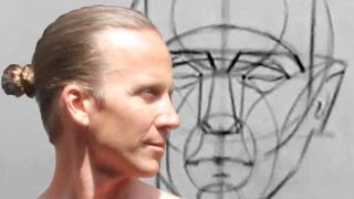 Portrait Drawing Basics and Making Time to Draw