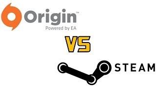 Origin Vs Steam for PC (EA's Origin & Valve's Steam Review)