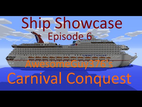 Minecraft: Ship Showcase - Episode 6 - AwesomeGuy376's Carnival Conquest