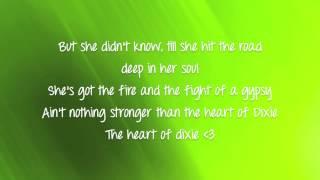 Heart of Dixie - Danielle Bradbery (Lyrics video)