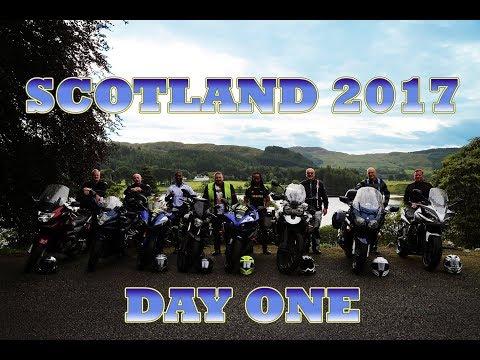 Scotland Tour 2017 Day one Brighton to Leeds