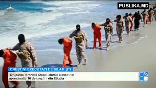 Repeat youtube video Gruparea teroristă Statul Islamic a executat aproximativ 30 de creştini din Etiopia