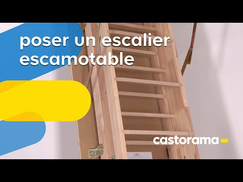 Comment poser un escalier escamotable tutobrain plateforme de tutoriel - Castorama escalier escamotable ...