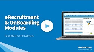 Peoplestreme's erecruitment and onboarding software aims to streamline the recruitment process easily onboard, induct welcome new employees quickly a...