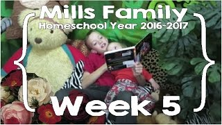 mills family home school year week 5 feat ace curriculum large family homeschool vlog