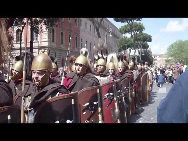 21/04/2013 Natale di roma -- 21 aprile 753 a.c. Rievocazione storica delle armate romane