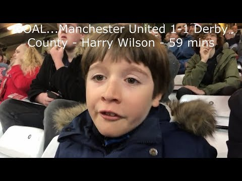 Manchester United v Derby County | Match Day Vlog | Carabao Cup Third Round | 25.09.2018