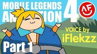 MÓVIL LEYENDAS: ANIMACIÓN - FANNY BANG BANG PARTE 1 (dibujos animados)voz por iFlekzz