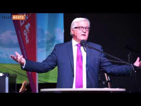 Frank-Walter Steinmeier in Celle - unzensiert.ungekürzt