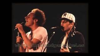 Simon and Garfunkel MY LITTLE TOWN live 1983 SPECIAL VERSION