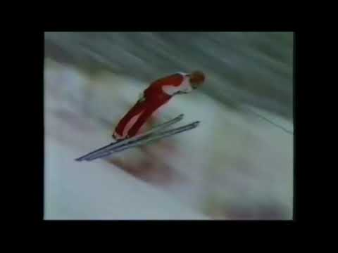 SARAJEVO 1984 Ski Jumping Andreas Bauer Normal Hill