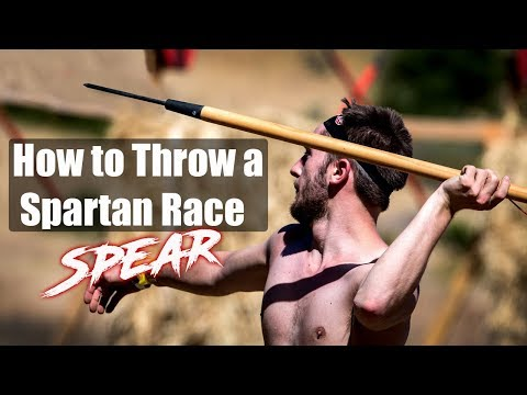 How to Throw a SPARTAN RACE Spear