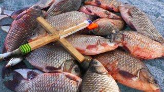 РЫБАЛКА НА КРЕСТ ОНИ ПРУТ КАК ТАНКИ рыбалка на карася весной 2021