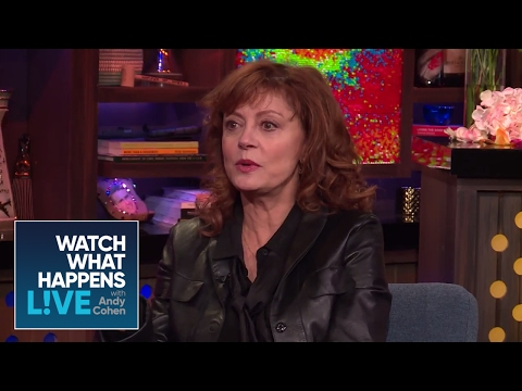 Susan Sarandon Calls Debra Messing Misinformed - WWHL