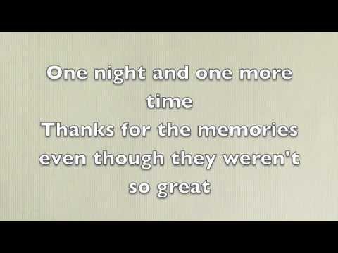 Fall Out Boy  Thnks Fr Th Mmrs Lyrics