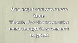 Fall Out Boy - Thnks Fr Th Mmrs Lyrics
