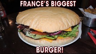 France's Biggest Burger Challenge BIEH Mega Cheeseburger | Randy Santel
