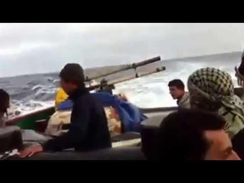 Video of attempt to destroy illegal oil tanker Morning Glory which loaded at Sidra oil port