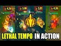 New Runes in Action - Lethal Tempo (Trundle, Lulu, Nunu, and Twitch) - League of Legends
