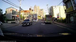 [블랙박스] 버스우측 흰색승용차(K5)에서 운전석에서 …