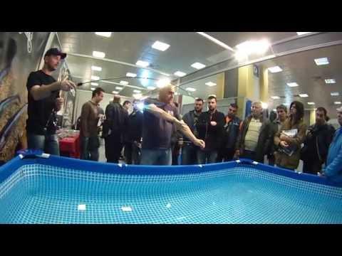 Light Rock Fishing Presentation-Seminar at Boat & Fishing Show 2015 by Anglermania Trading Ltd