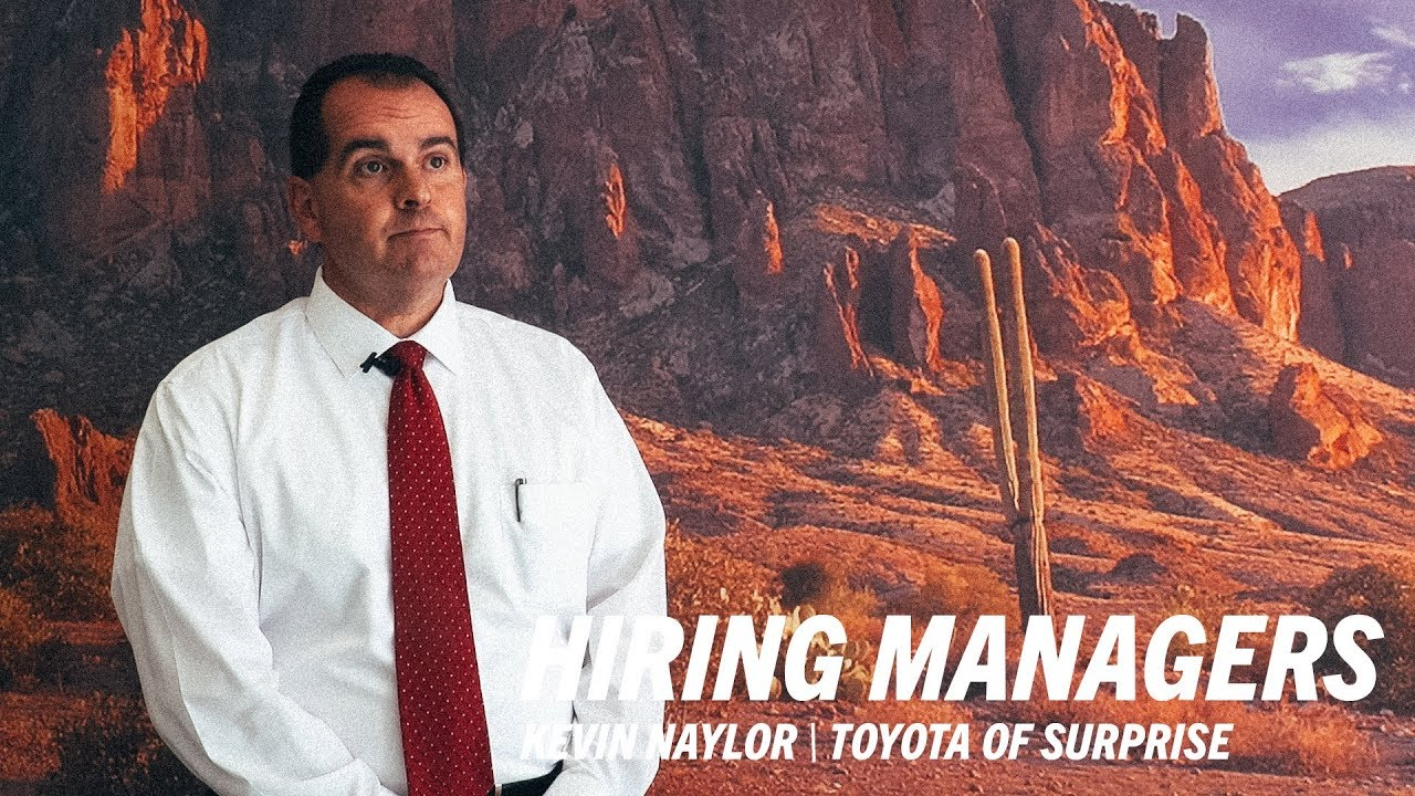 Toyota Of Surprise >> Toyota Of Surprise Kevin Naylor Universal Technical Institute