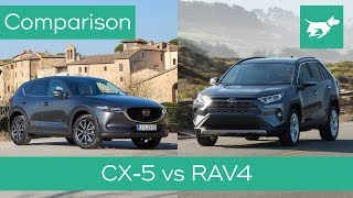 Toyota Rav4 Vs Mazda Cx-5 2019 Comparison Review