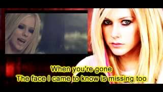 Video Avril Lavigne - When You're Gone (Instrumental) (Lyrics) download MP3, 3GP, MP4, WEBM, AVI, FLV Agustus 2018