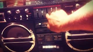 LASONIC TRC-931/OLD SCHOOL BOOMBOX/HIP HOP RAP SONG OC-BORN 2 LIVE/2017