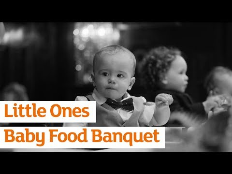 Little Ones Baby Food Banquet | Sainsbury's Ad | 2018