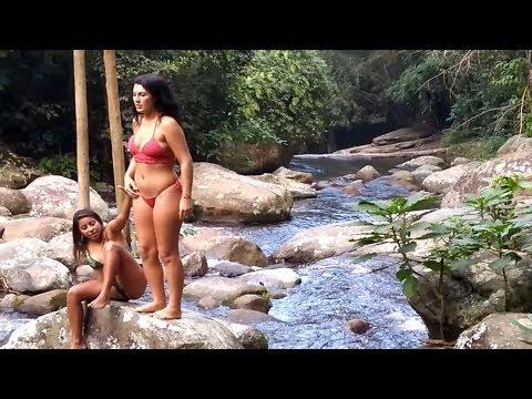 Cachoeira do Tobogã e Poço do Tarzan Paraty com os Caçadores de Aventura GoPro