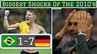 7 Biggest Shocks in Football this Decade