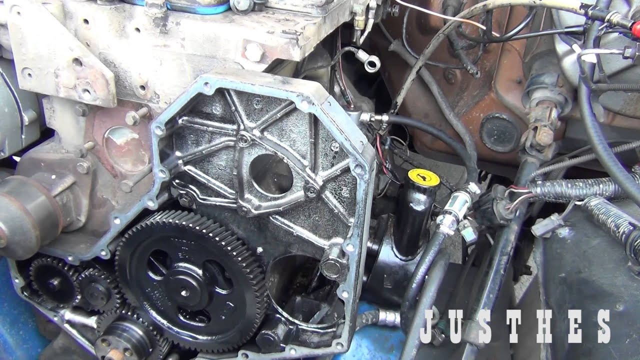4bt cummins injector pump removal