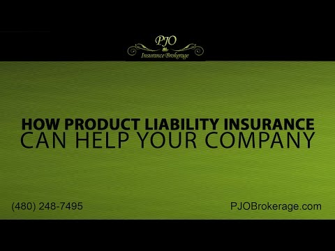 Product Liability Insurance | PJO Brokerage