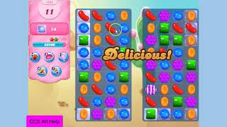 Candy Crush Saga Level 1554 New NO BOOSTERS