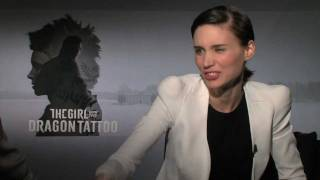 Daniel Craig, Rooney Mara And Christopher Plummer Interviews For THE GIRL WITH THE DRAGON TATTOO