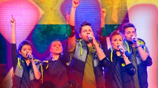 """Jurgis Brūzga atliko dainą """"Hold on"""" (2016) Eurovision Song Contest"""