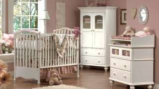 Cheap White Nursery Baby Cribs With Changing Table For Girls
